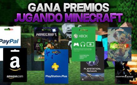 COMO GANAR DINERO REAL JUGANDO AL MINECRAFT - DINERO PAYPAL, PSN, XBOX LIVE GRATIS
