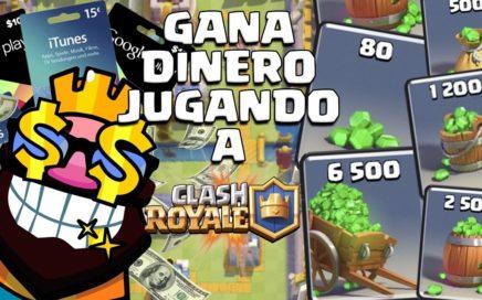 """"""" Como Ganar DINERO REAL jugando Clash Royale """" """" Gana Dinero con Clash Royale"""" Gemas Gratis"""