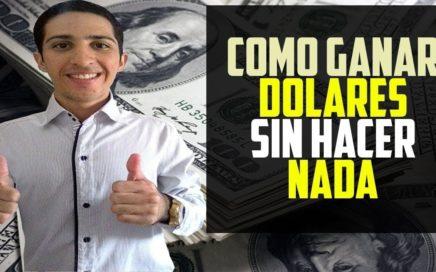 Como Ganar Dinero Sin Hacer Nada(Venezuela y cualquier Pais)Comienza con 10 USD GRATIS Pagando