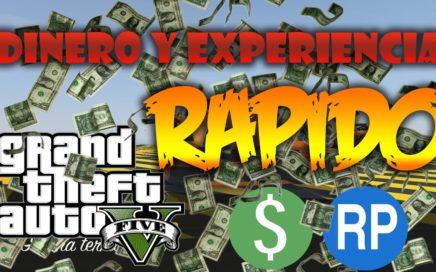 Cómo ganar DINERO y EXPERIENCIA RÁPIDO | GTA V ONLINE