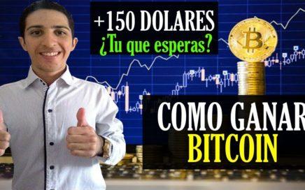 Como Ganar Más de 150$ Dolares en Bitcoin [NO NECESITAS INVERSIÓN] ¿Y tu que Esperas? Empieza YA