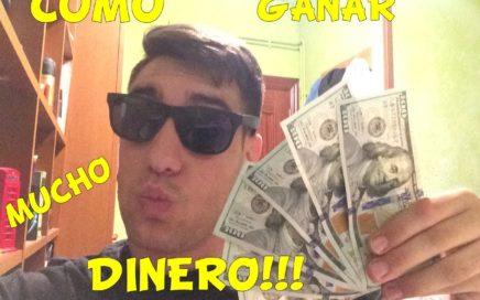 COMO GANAR MUCHO DINERO SIN SALIR DE CASA !!! 100% VERDAD!!
