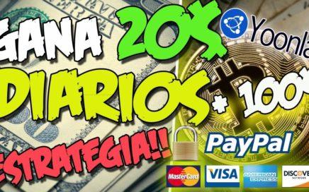 COMO GANE MAS DE 100$ EN 4 DIAS | Gana Dinero desde tu celular | Estrategia YOONLA