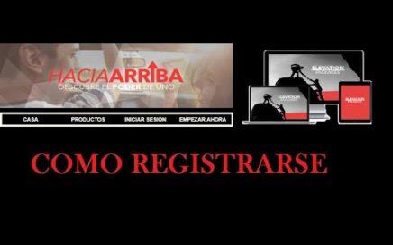 COMO REGISTRARSE EN EASY1UP/HACIA ARRIBA