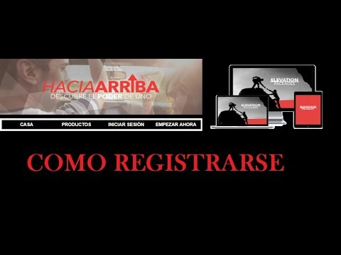 COMO REGISTRARSE EN EASY1UP/HACIA ARRIBA