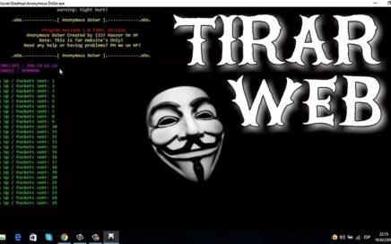 Como tirar paginas webs Noviembre 2017 - Anonymous ddoser