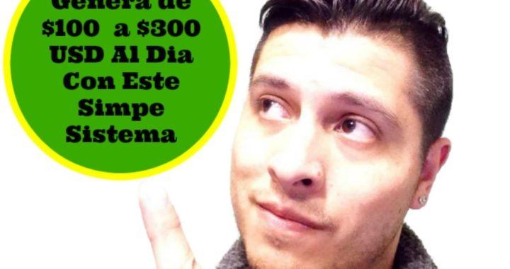 Como Trabajar Desde Casa [Ganar Dinero Por Internet] $300 a $500 Por Día