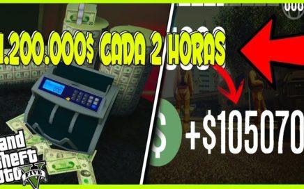 ¡CONSIGUE 1.200.000$ CADA 2 HORAS SIN AYUDA SIN SER BANEADO POR ROCKSTAR EN GTA 5 ONLINE TRUCO 1.41¡
