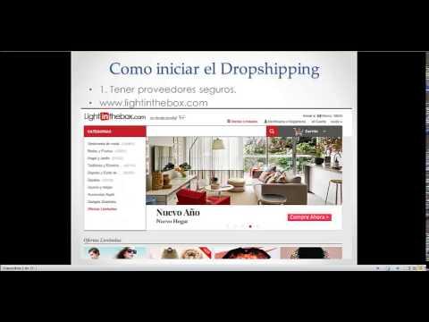 curso de dropshipping, gana dinero en internet copiando y pegando