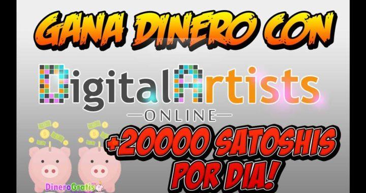Digital Artists Online GANA DINERO CADA 5 MINUTOS SCRIPT BOT GRATIS + PRUEBA DE PAGO