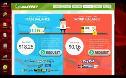 Earn Money Network COMO REGISTRARSE Y EMPEZAR A TRABAJAR TUTORIAL EN ESPAÑOL