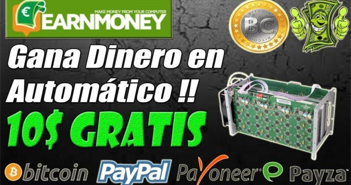 EARN MONEY NETWORK  NUEVA PAGINA PARA GANAR DINERO 50$ EN 24H