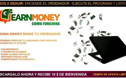 EarnMoney | Como Funciona EarnMoney | Que es EarnMoney ? | TheNocs Tutoriales