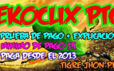 Ekoclix 2017 Importantes Noticias y Como cobrar pagos? | Ekoclix Prueba de Pago | Ekoclix Paga