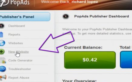 El adSense de los Popup Gana Dinero MONETIZAR TU BLOGGER O WORDPRESS CON 'POP ADS'