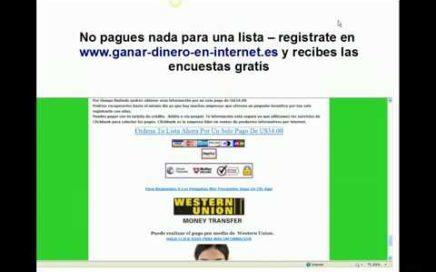 Encuestas Remuneradas GRATIS Ganar Dinero con Paypal