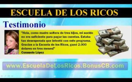Escuela de los Ricos - Como Ganar Dinero Respondiendo Encuestas desde Casa en tu Tiempo Libre