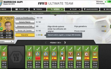 FIFA 13 ULTIMATE TEAM- Ganar Dinero Rápido y Fácil.