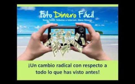 Foto Dinero Facil | Como Ganar Dinero Con Tus Fotos, Solo Una Camara Casera | 100% Real
