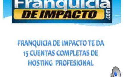 Franquicia De Impacto.Negocios online. Ganar dinero
