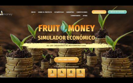 FRUIT MONEY UNA DE LAS MEJORES PAGINAS PARA GANAR DINERO (COMPROBANTE DE PAGO) 2017