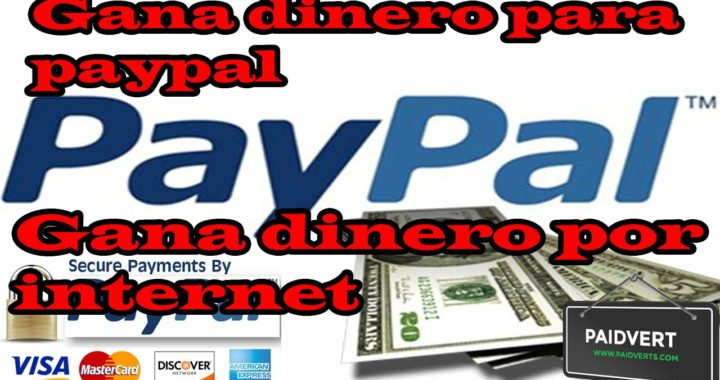 Gana 7 dolares en 5 minutos   Como Ganar Dinero Para Paypal