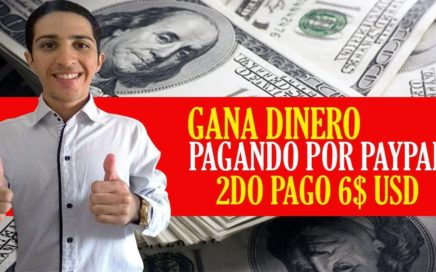 Gana Dinero a Paypal [2do PAGO 6$ USD] de Forma Gratuita con EarnMoney.Network