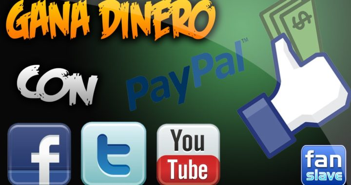 Gana Dinero Dando Me Gustas, Viendo Videos, Compartiendo, Etc.   PayPal   2016