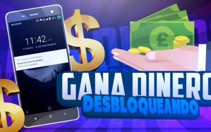 GANA DINERO DESBLOQUEANDO EL CELULAR! | GANAR DINERO FÁCIL | @TutosCreeper