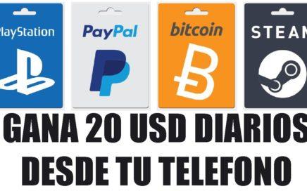 Gana dinero desde tu Smartphone   PayPal o Bitcoins