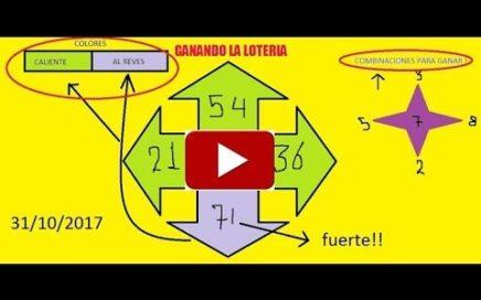 Gana Dinero facil -Numeros ganadores para hoy 31/10/17 / Como Ganar chance