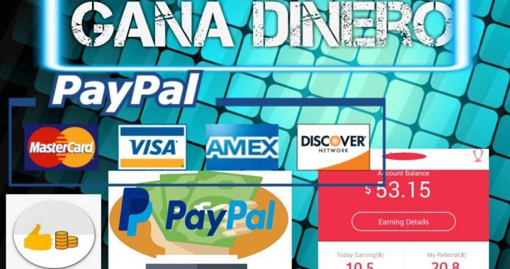 Gana dinero facil/seguro paypal 2017-julio
