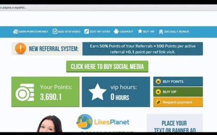 Gana Dinero Paypal - Sin invertir ni un $Centavo 2014 + prueba de Pago paypal - likes planet si Paga