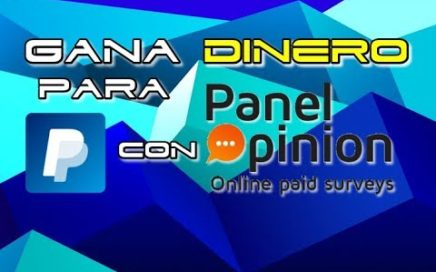GANA DINERO POR INTERNET CON PANEL OPINION | ENCUESTAS REMUNERADAS UK 2017