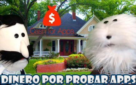 Gana Dinero por Probar Apps con Cash For Apps