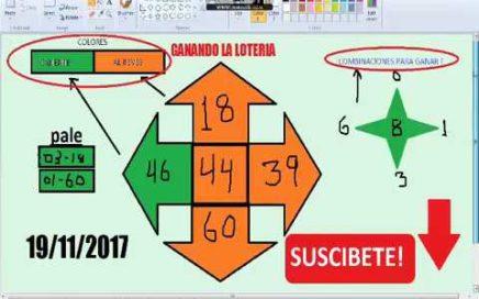 Gana Dinero Rapido hoy 19/11/17 en La Loterias y Apuestas/ juega chances
