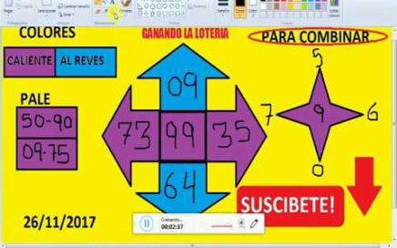 Gana Dinero Rapido hoy 26/11/17 en La Loterias y Apuestas/ juega chances