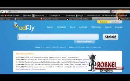 Ganancias de Adf.ly Ganar Dinero Con Tus Links de Descarga con Adf.ly