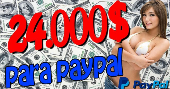 GANAR 24000$ PARA PAYPAL| DINERO GRATIS PARA PAYPAL | Conseguir dinero gratis para paypal 2016
