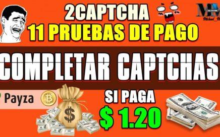 GANAR DINERO 11 PRUEBA DE PAGOS SOLO POR COMPLETAR CAPTCHA ( $1.20 DOLARES GANADOS )