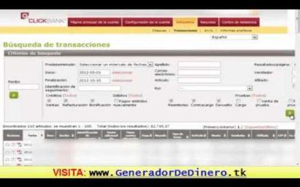 Ganar Dinero con Clickbank | Como Conseguir Dinero Rapido
