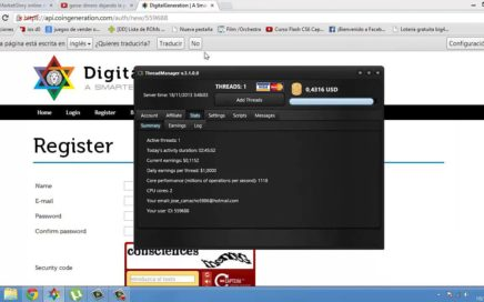 Ganar Dinero Desde Casa Con PC Encendida (20€-MES) DigitalGeneration [ CoinGeneration]