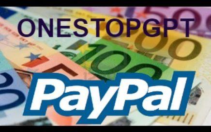 Ganar dinero desde casa (Dinero directo a Paypal Onestopgpt)