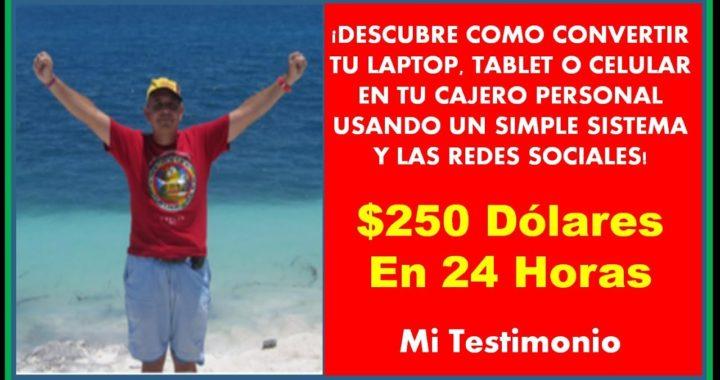 Ganar Dinero Desde Casa Es Muy Simple Con HaciaArriba (Easy1Up)   Como Hice $250 USD En 24 Horas