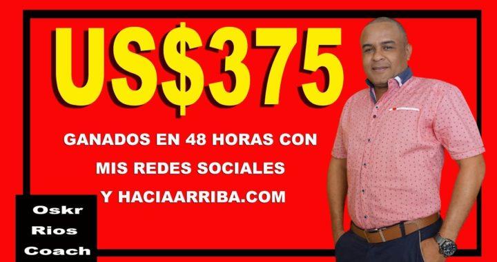 Ganar dinero desde casa usando internet y redes sociales con HaciaArriba