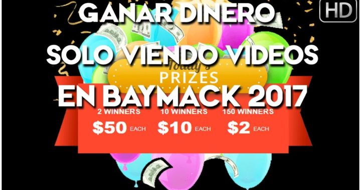 Ganar Dinero en Baymack Similar a Snuckls Viendo Videos 2017