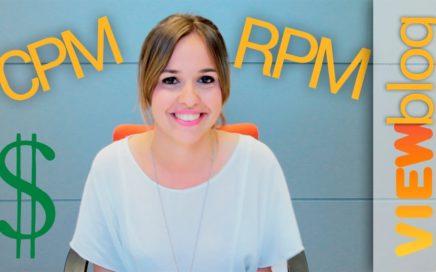Ganar dinero en Youtube. CPM y RPM