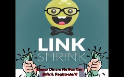 Ganar Dinero Facil con linkshrink
