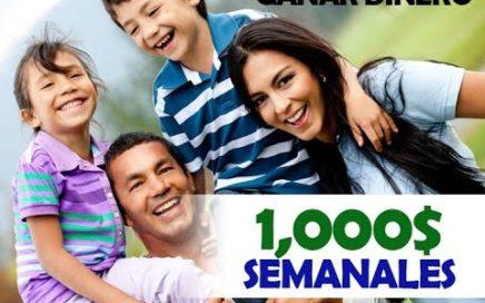 GANAR DINERO  | Ganar Dinero Por Internet 2017 | 1,000$ semanales