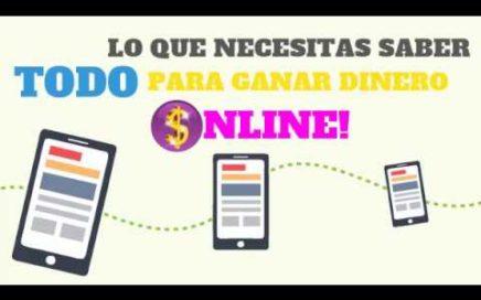 Ganar Dinero Online 2017